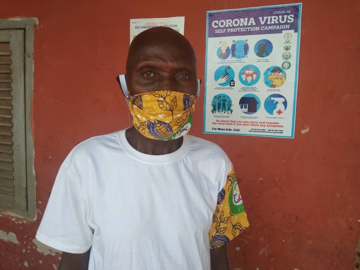 Covid 19 face masks in Ghana